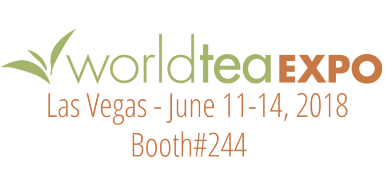 See You at world tea expo!