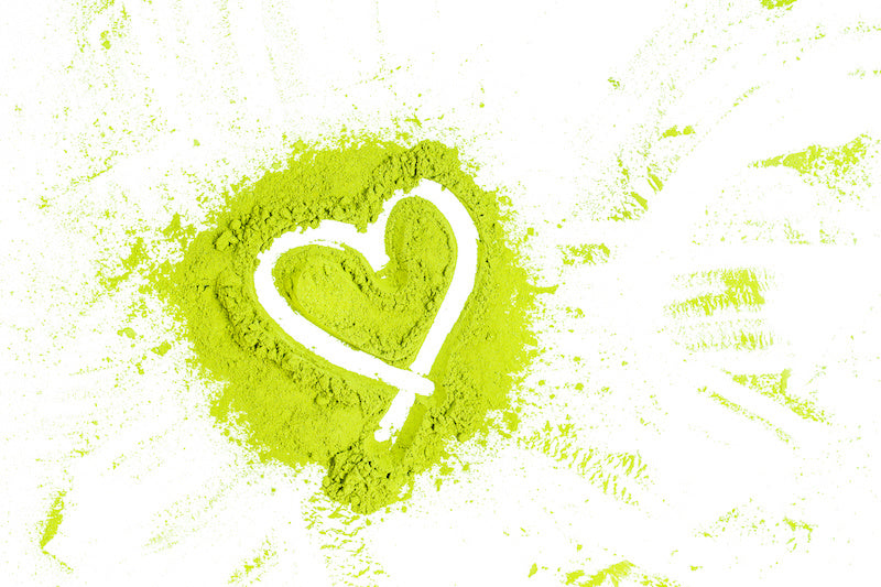 matcha green tea can help with heart health