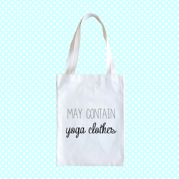 Canvas Bag May Contain