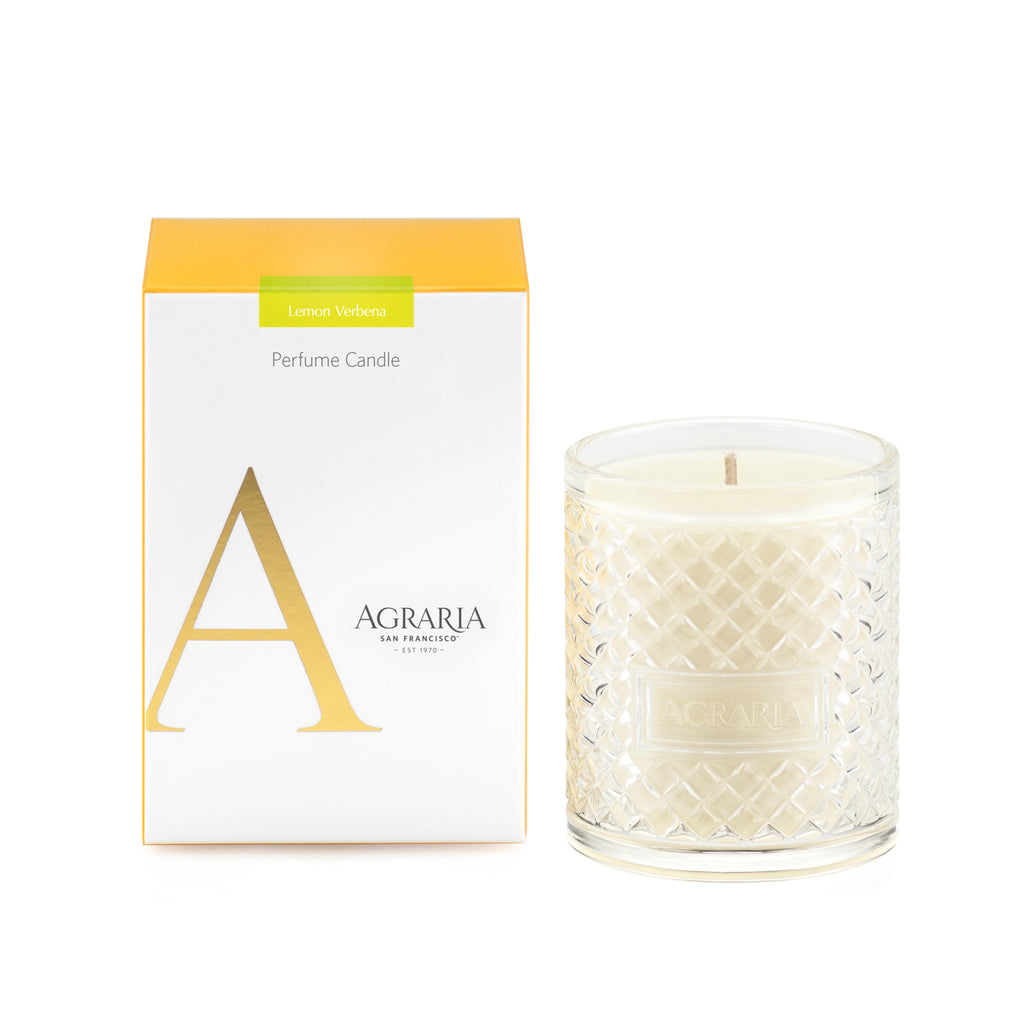 Agraria - Lemon Verbena Scented Crystal Candle