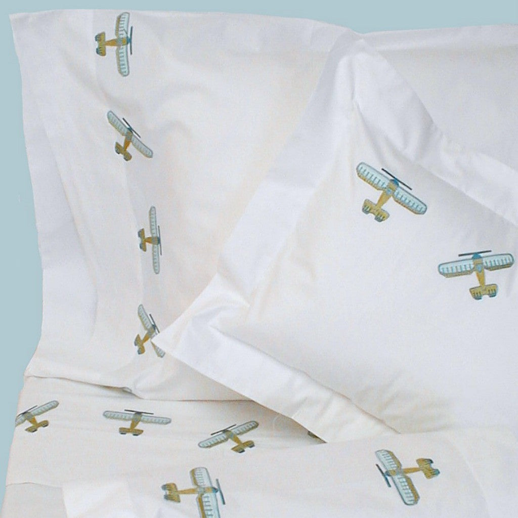 Hamburg House Airplane Sheets
