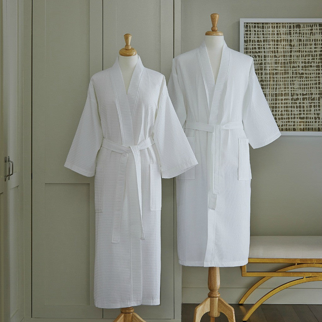 Sferra Edison White Bath Robe