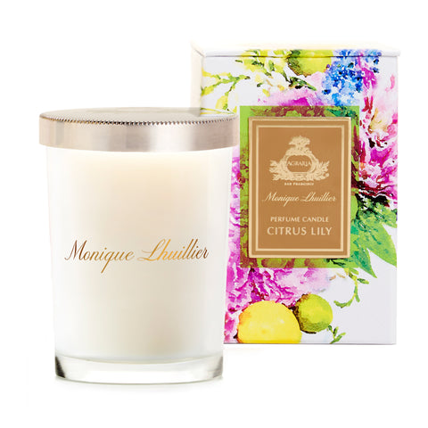 Agraria - Monique Lhuillier Citrus Lily Scented Candle