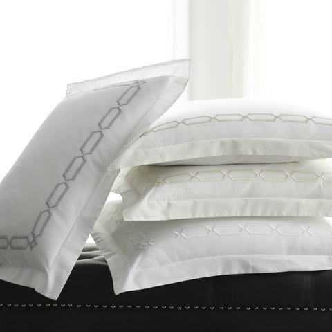Arezzo Embroidered Sheet Collection
