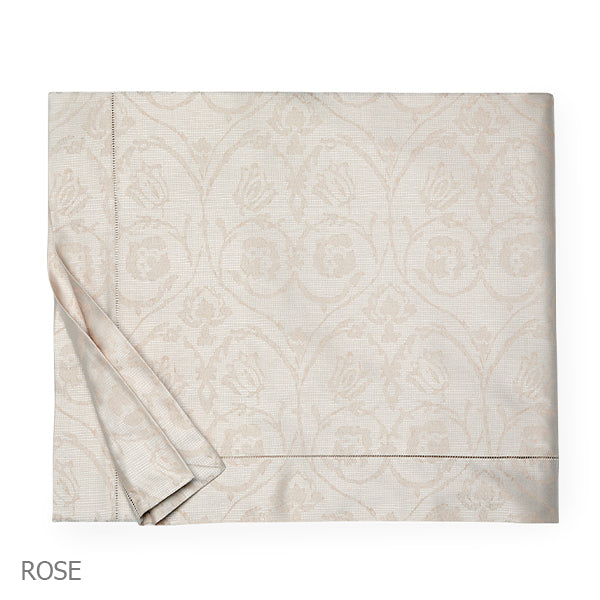 Amiata Jacquard Rose Duvet Cover