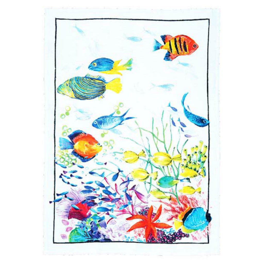 Belize Corallo Tea Towels