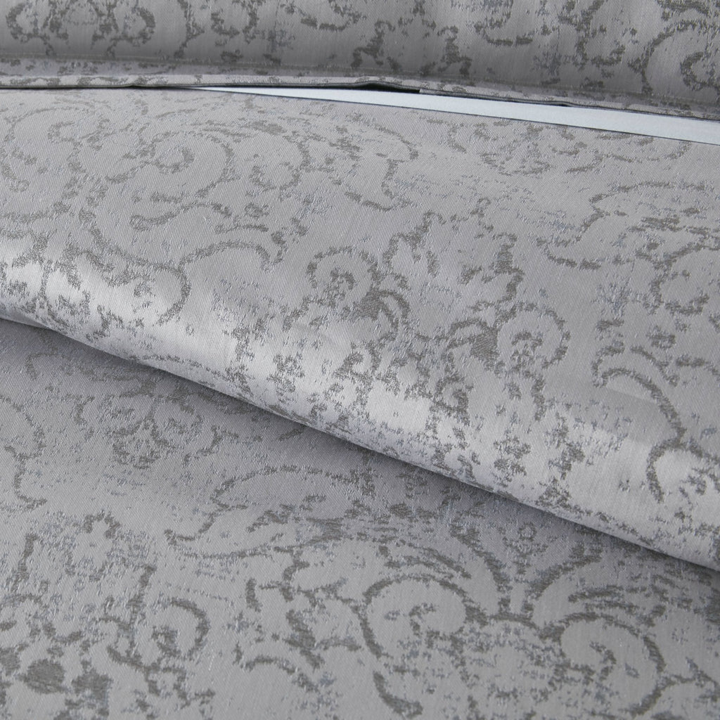 Bella Pewter Duvet Cover & Shams
