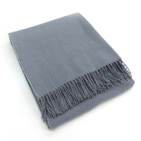 Bucaneve Wool/Silk Throws