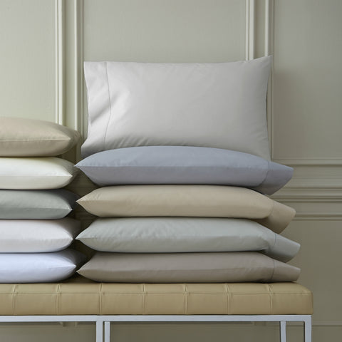 Sferra Celeste Sheet Collection Stacked Pillowcases