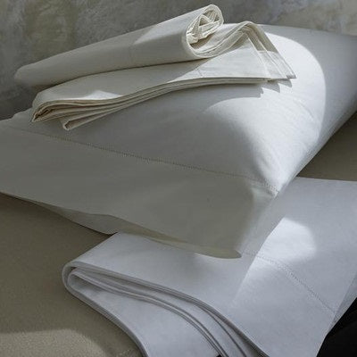 Scandia - Classic Natural Percale Sheets