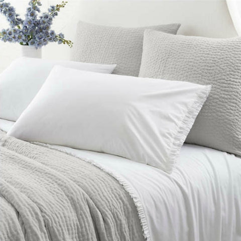 Pine Cone Hill - Classic Ruffle Sheet Set - White