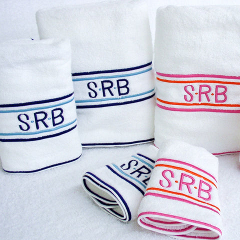 Hamburg House Club Stripes Towel Set