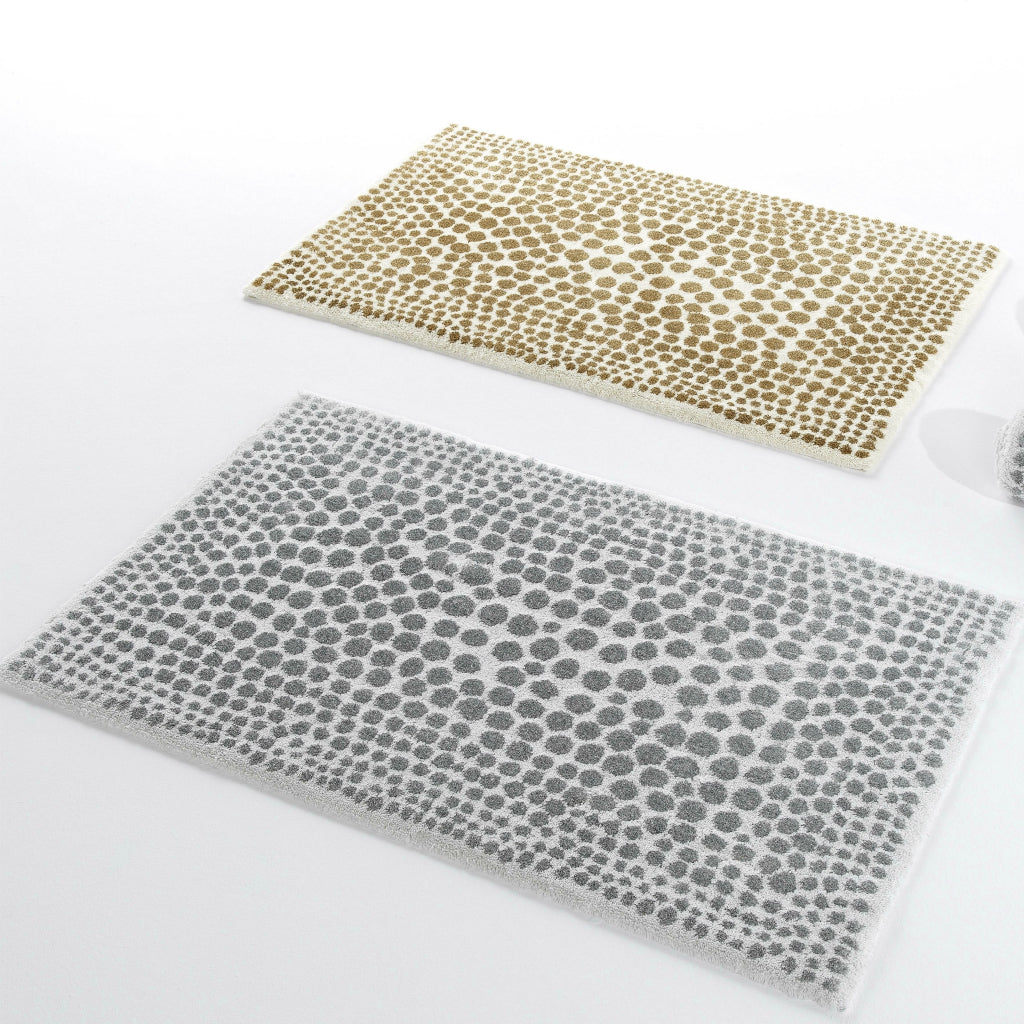 Abyss & Habidecor Dolce Rugs Silver & Gold