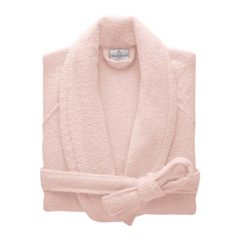 Etoile Shawl Collar Bathrobe - Blush