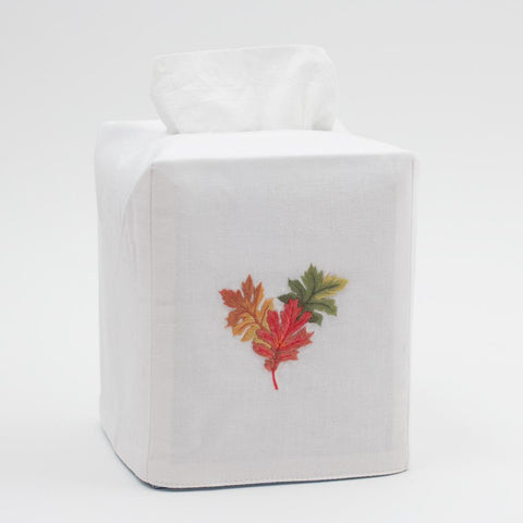 Henry Handwork - Fall Leaves Tissue Box Cover