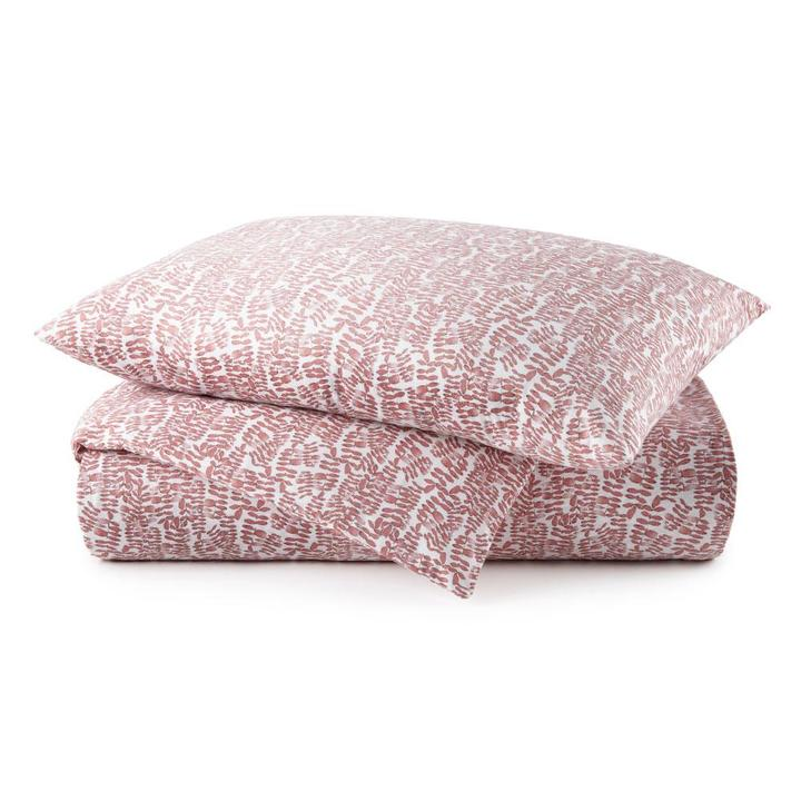 Fern Duvet Cover - Berry