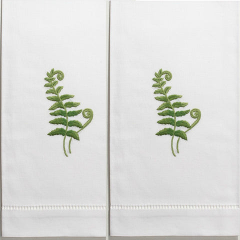 Fern Fronds Guest Towels