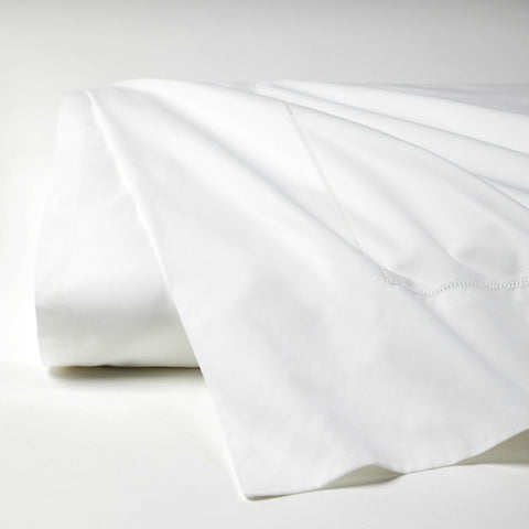 Giza 45 Percale White