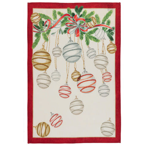 La Table au Noel Red Tea Towels