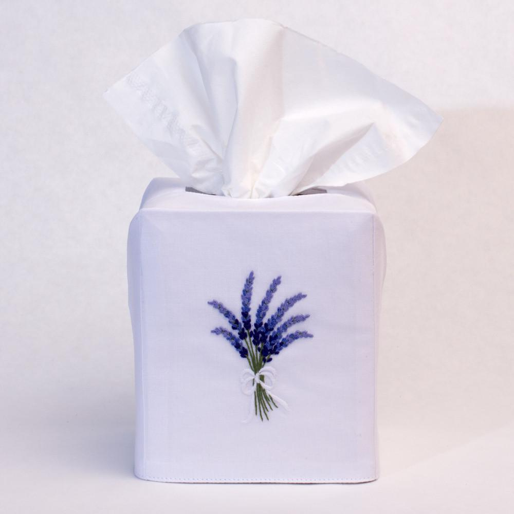Henry Handwork - Lavender Tissue Box Cover