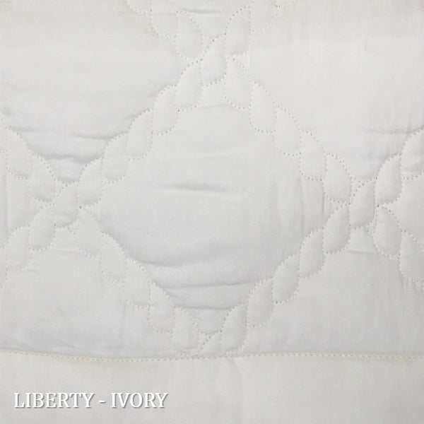 Home Treasures - Liberty Quilt Swatch Ivory