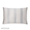 Lineare Decorative Pillow - White/Silver