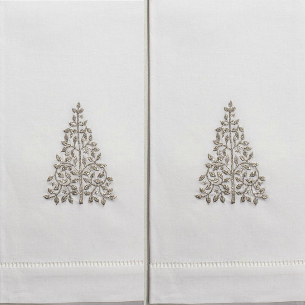 Henry Handwork - Mod Tree Guest Towel Set