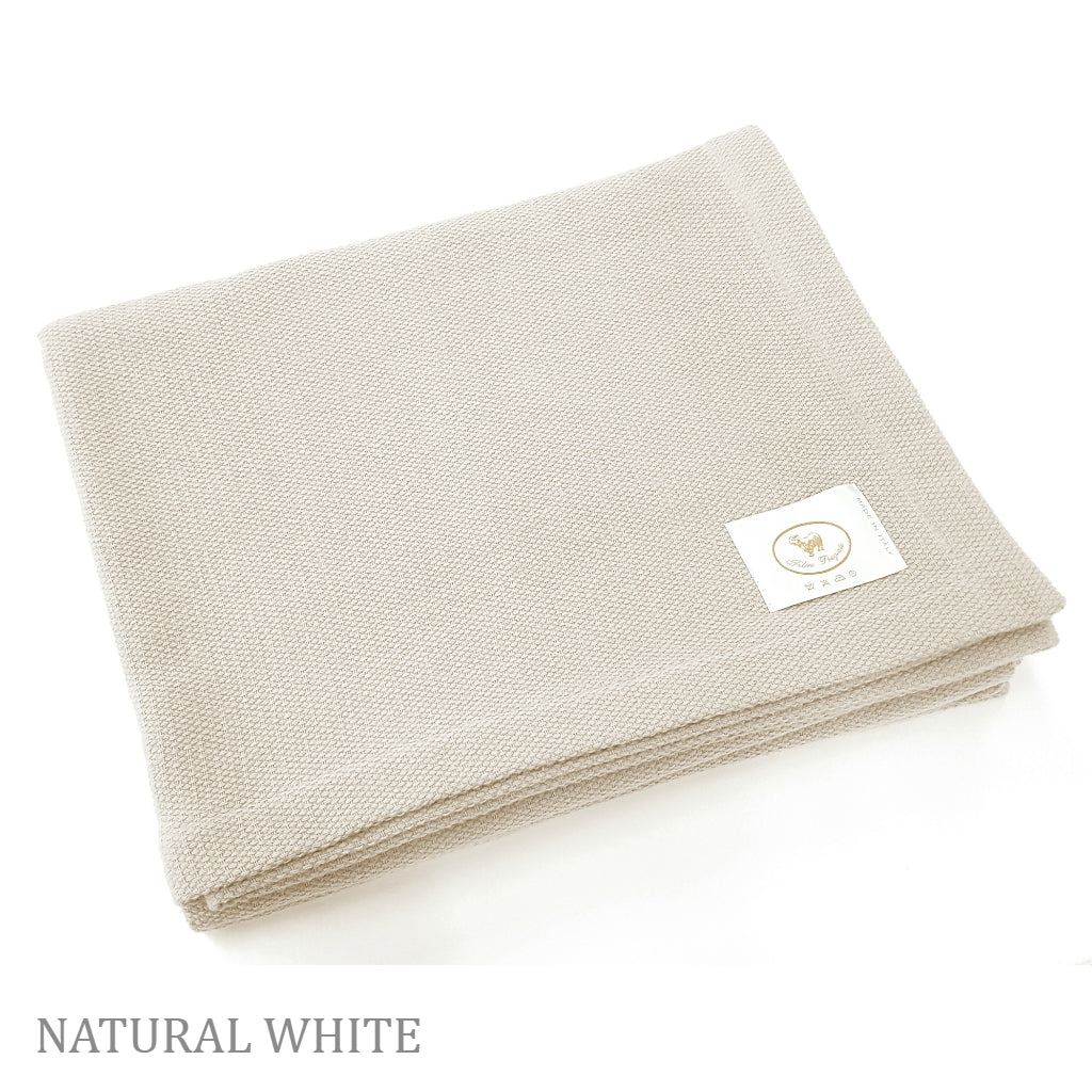 Perla Cotton/Cashmere Blanket