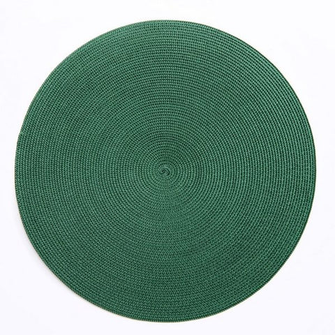 Linen Braid Placemats - Our Favorite Greens