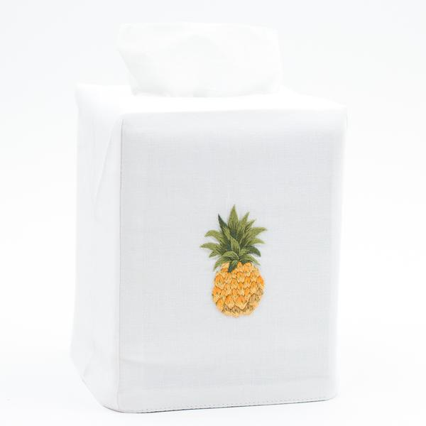 Pineapple Modern Cotton Tissue Box Cover
