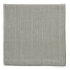 Pleated Metallic Napkin Silver/Taupe