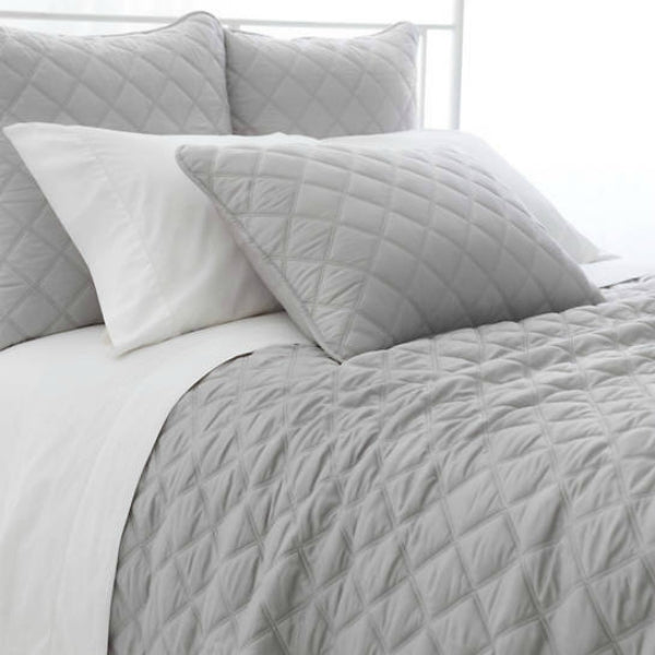 Pine Cone Hill - Quilted Silken Solid Grey