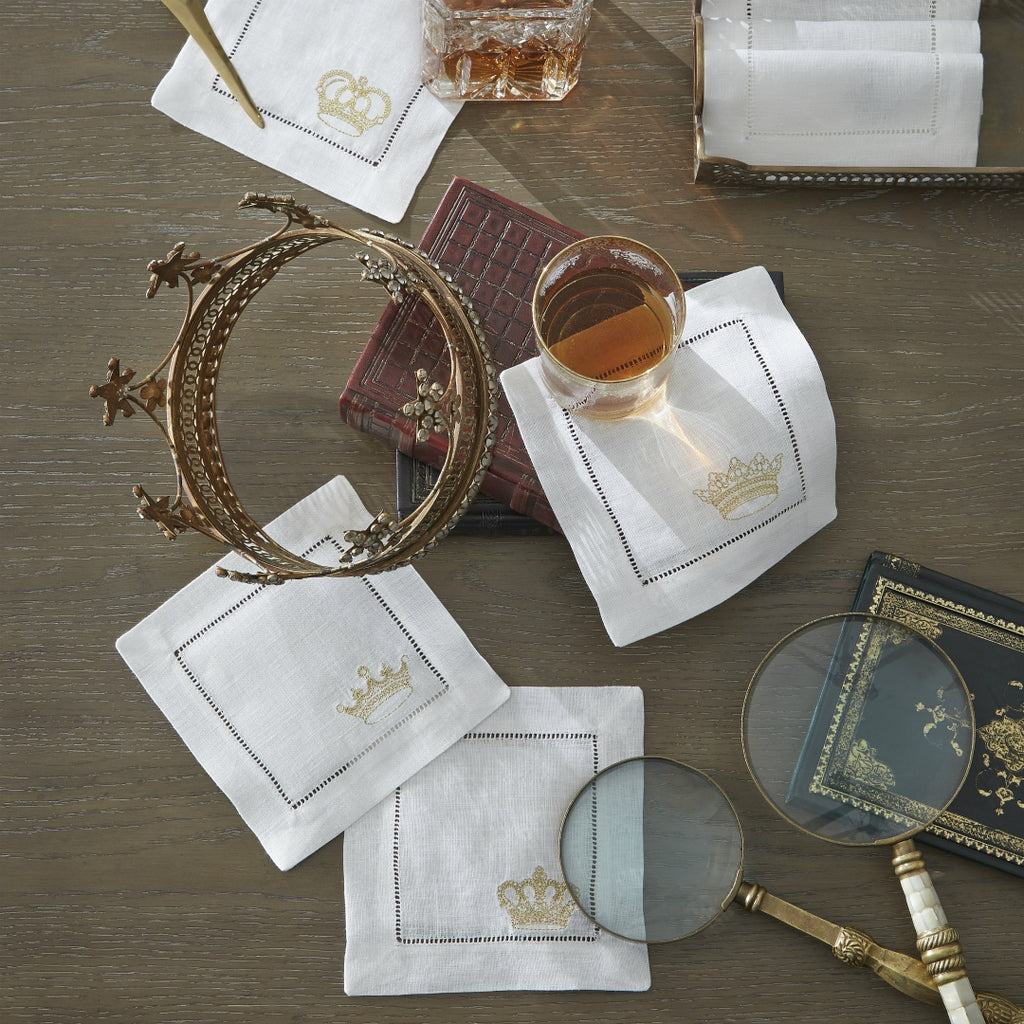 Sferra - Royalty Cocktail Napkins