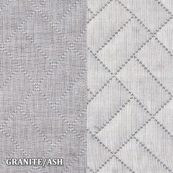 Home Treasures - Savannah Coverlets & Shams - Granite/Ash