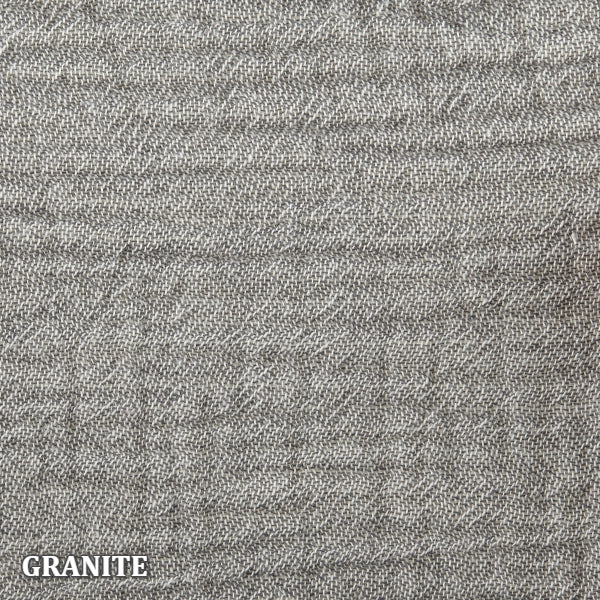 Home Treasures - Atacama Coverlets & Shams - Granite
