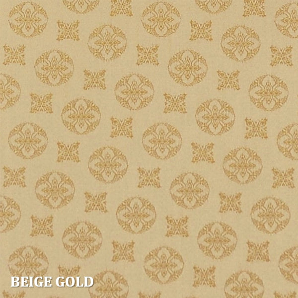 Home Treasures - Duomo Jaquard - Beige Gold