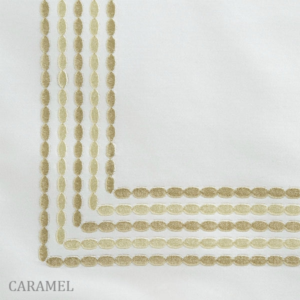 Home Treasures - Stella Embroidered Duvets & Shams - Caramel