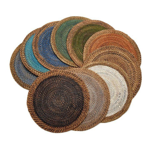 Deborah Rhodes - Shaded Rattan Placemats
