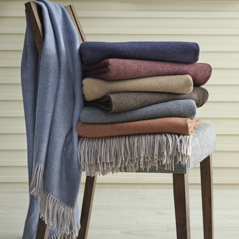 Tartini Merino Wool Throws