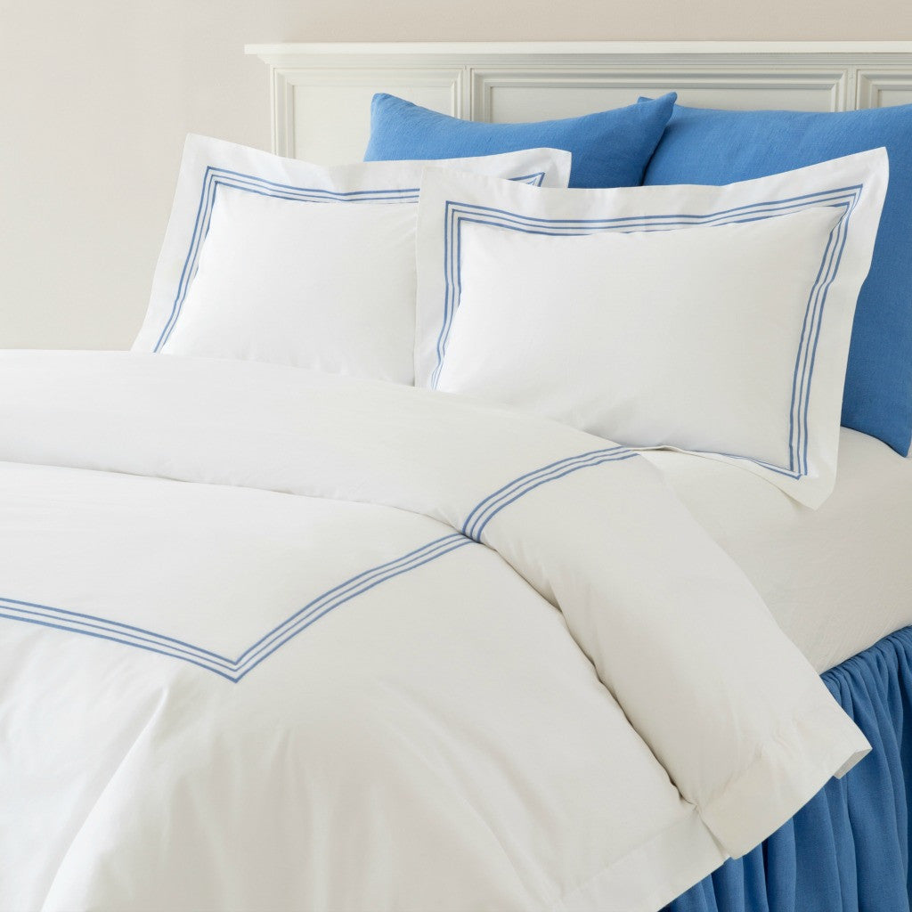 Pine Cone Hill Trio Duvet Covers & Shams French Blue