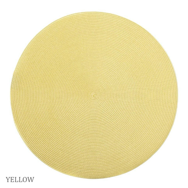 Linen Braid Placemats - Our Favorite Yellows