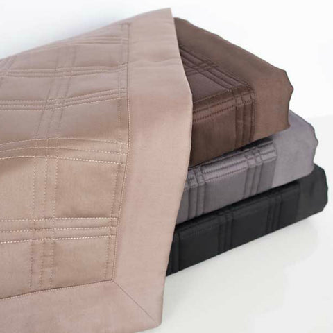 Block Quilted Coverlets