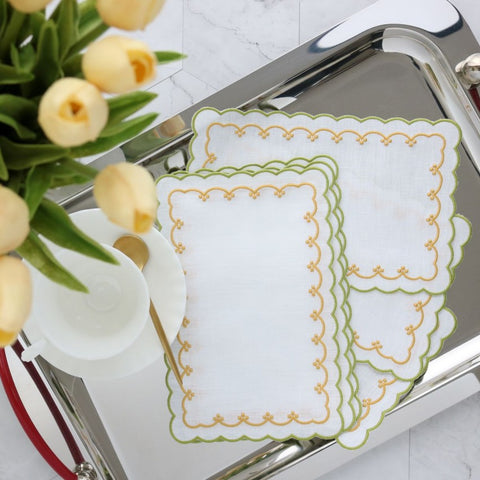 Bergamo Cocktail Napkins (Set of 6)