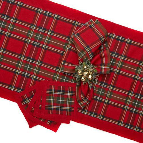 Deborah Rhodes - Royal Plaid Table Linen Collection