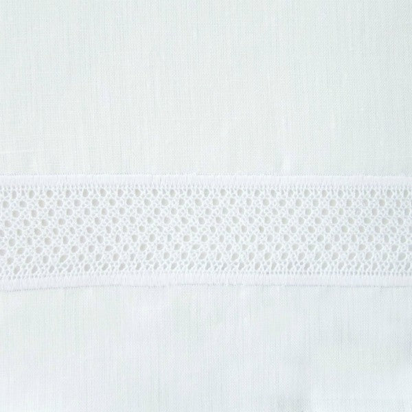 Home Treasures Morocco Lace Swatch White