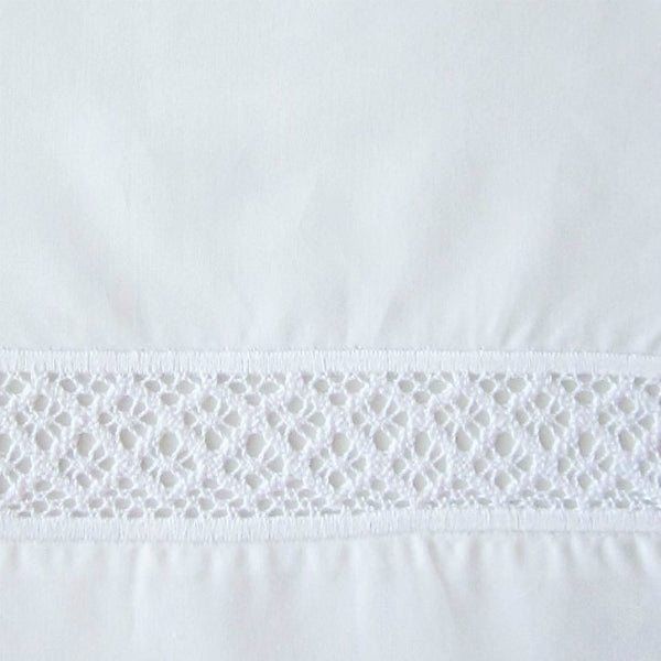 Home Treasures Valencia Lace White