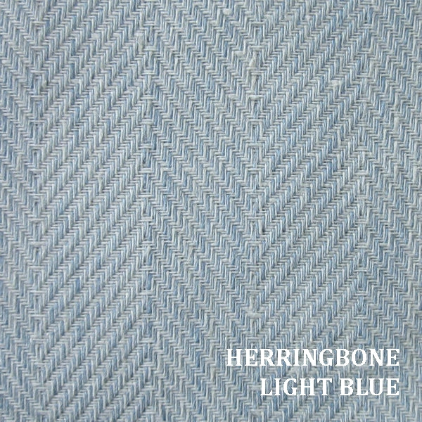 Home Treasures Zebra Herringbone Light Blue