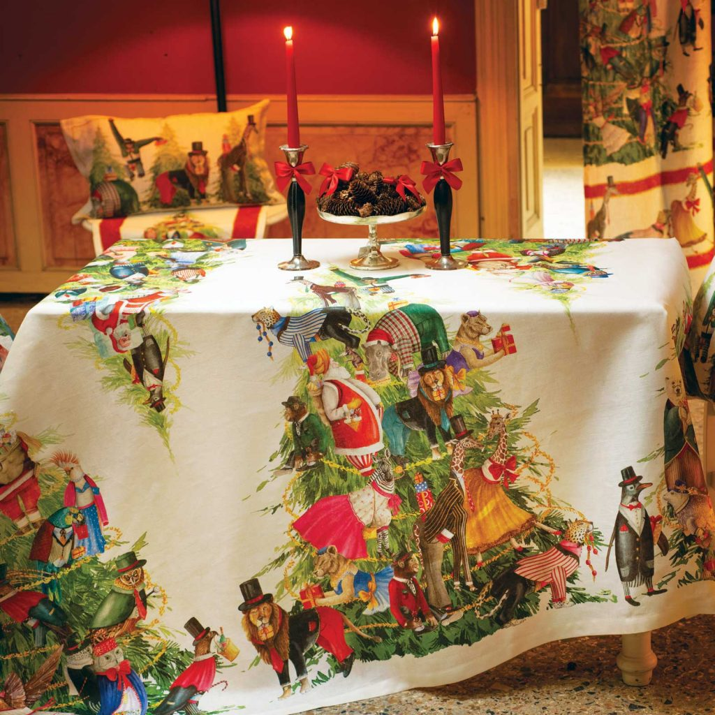 Magical Tree Printed Tablecloth