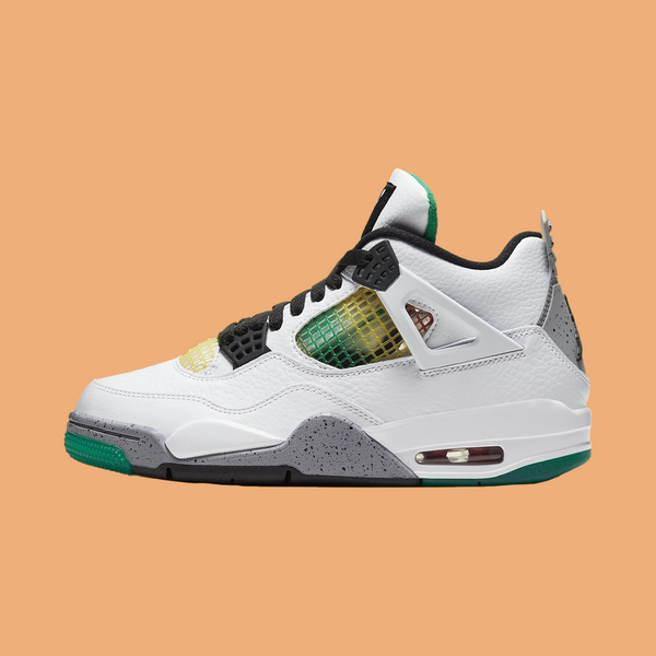 "Women's Retro 4 ""Rasta"""