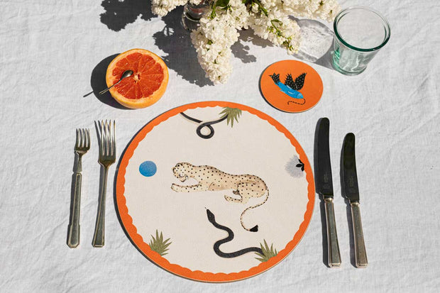 Polkra x Anna Glover Mirabilia Placemats - Set of 6
